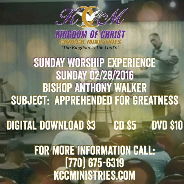 Sunday Worship Experience 02/28/2016