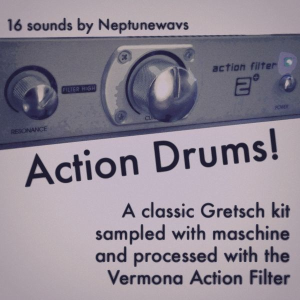 Action Filter Drums