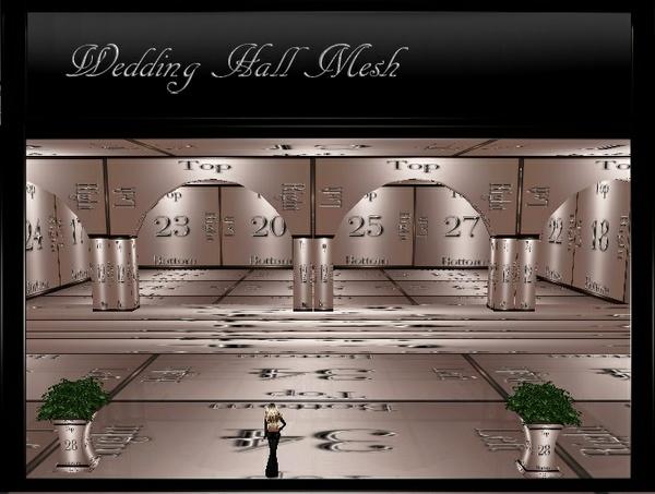 IMVU Wedding Hall Mesh