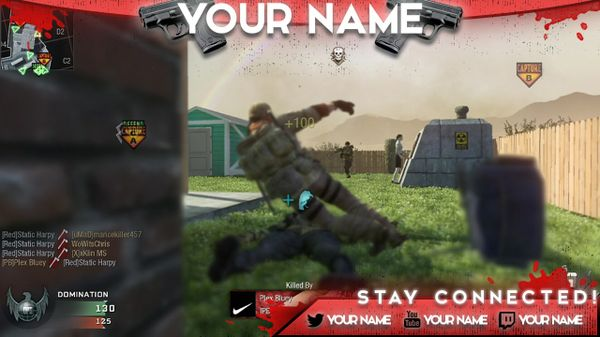 Call Of Duty Twitch Overlay!