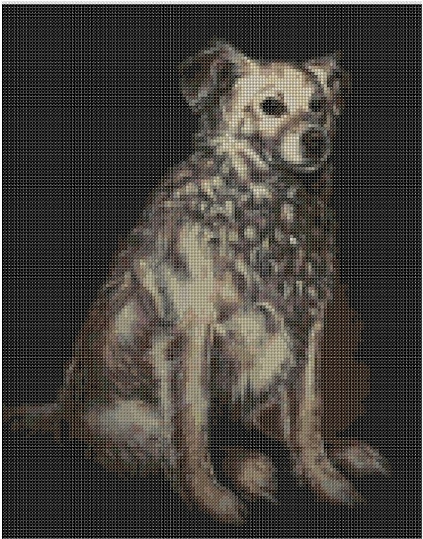 cross stitch pattern Cbz-055c