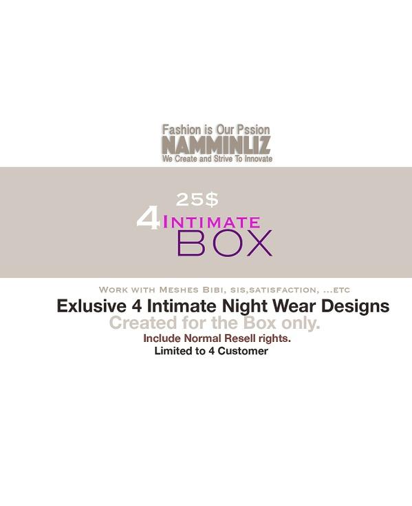 B O X 4 Intimate GA Advertise