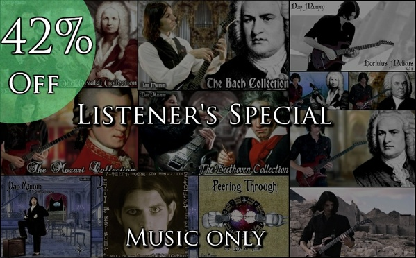 *Listener's Special* Ultimate Neo-Classical Collection -  62 Songs **Music Only** 42% Off!