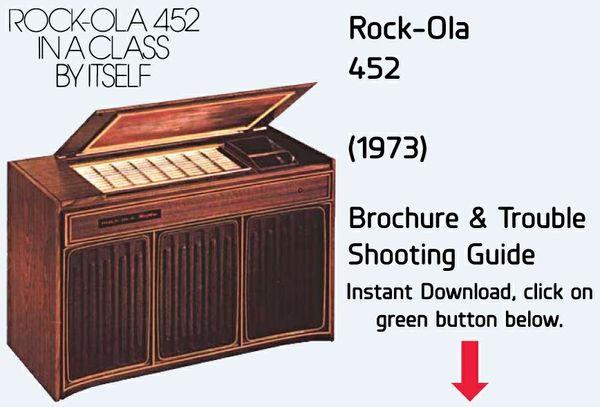 """Rock-Ola 452 """"Console"""" (1973)"""