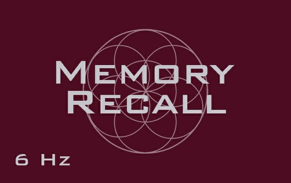 Memory Recall - Past Memory Remembrance - Recall Dreams, Events, Places - Binaural Beats