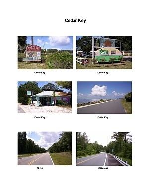 Cedar Key Scenic Motorcycle Ride