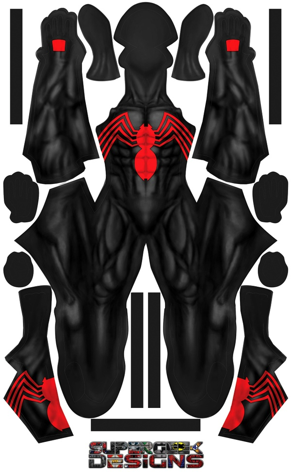 OLD SCHOOL SYMBIOTE RED pattern file