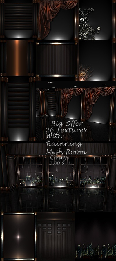Brown rain room