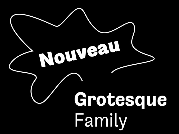 Nouveau Grotesque Family Pack (8 Fonts) Desktop 1-3 User