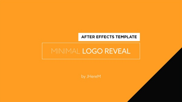 Minimal Logo Reveal | After Effects Template