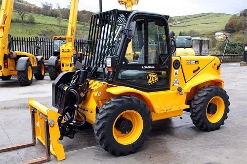 JCB Loadall 520-50 525-50 525-50S Telescopic Handler Service Repair Manual Download