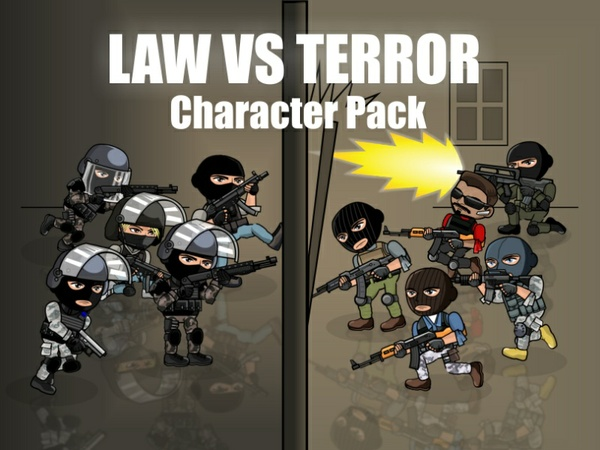 Law Vs Terror Character Pack