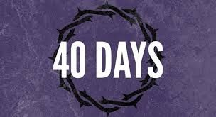 40 Days Continued 3/22/15