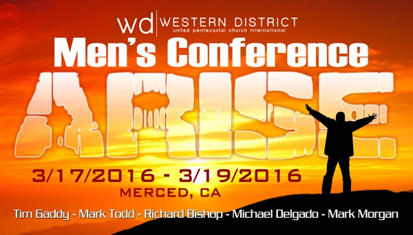"""2016 Western District Men's Conference Rev. Mark Morgan 03-19-16am """" The Total man"""" MP3"""