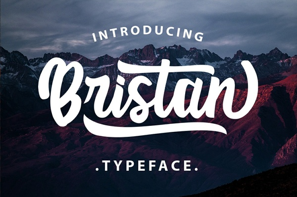 Bristan Typeface