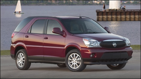 Buick Rendezvous Pontiac Aztek 2002-2007 Service Workshop repair manual