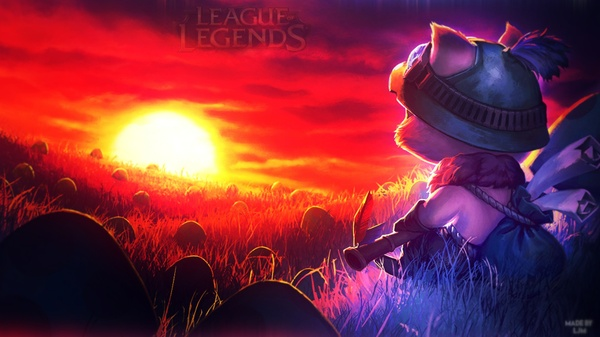 League of Legends wallpaper by LJM
