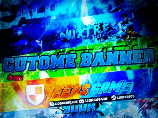 Custome Banner