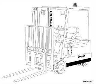 Hyster Diesel/LPG Forklift Truck H160 Series: J30XMT2, J35XMT2, J40XMT2 Spare Parts List, EPC