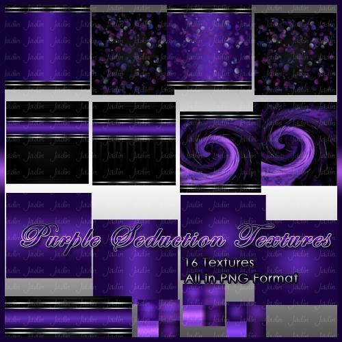 Purple Seduction Texture Pack -- $2.00