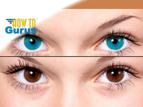 How To Easily Change Portrait Eye Color in Photoshop Elements 15 14 13 12 11 Tutorial