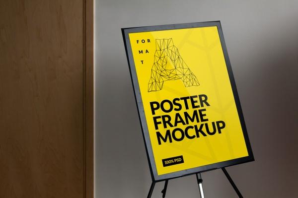 Free Frame Poster Mockup