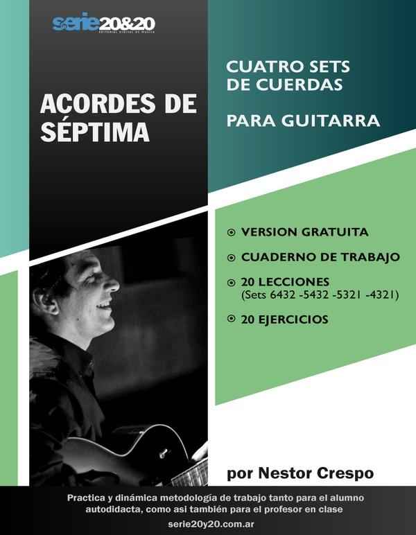 GUITARRA / Acordes de Septima (Sin Pistas de Práctica ni Soluciones)