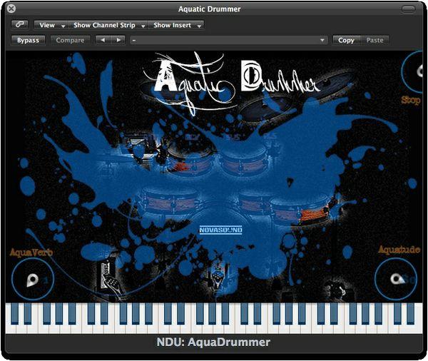AU - Nova Drum Unit: Aquatic Drummer - AU (Mac)