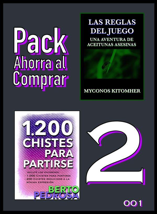 Pack Ahorra al Comprar 2 - 001: Las reglas del juego & 1200 Chistes para partirse