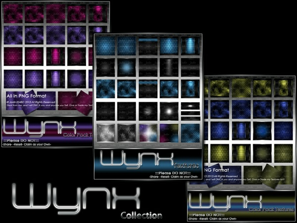 WYNX Texture Pack Collection-- $10.00