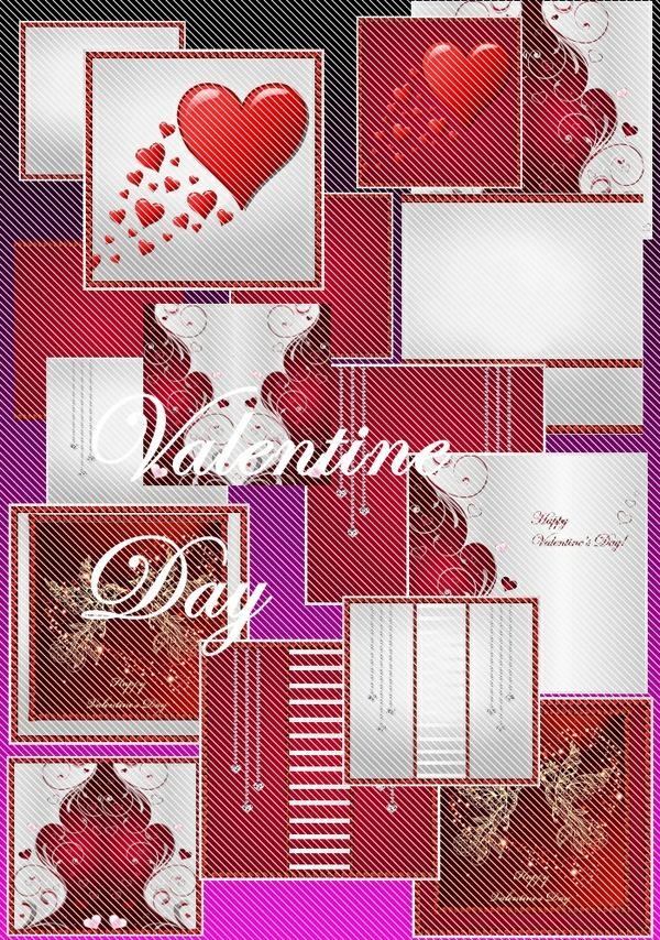 texture valentine day