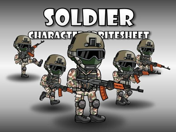 Soldier 41 Woodland Mercenary