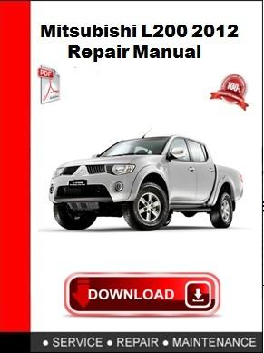 Mitsubishi L200 2012 Repair Manual