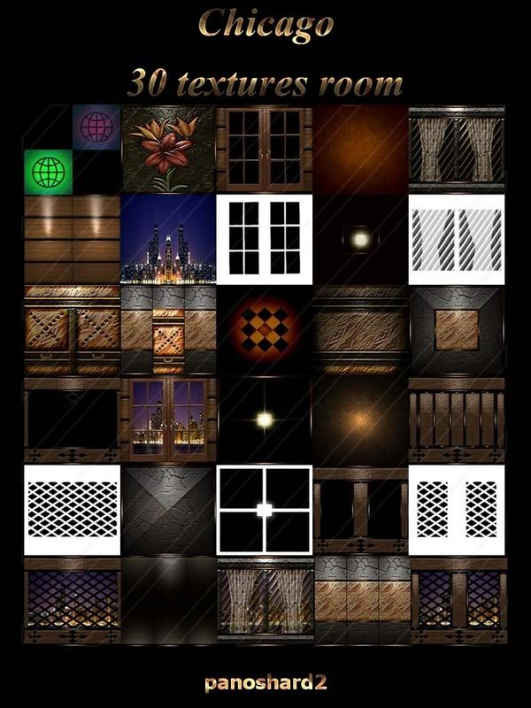 Chicago 30 textures room