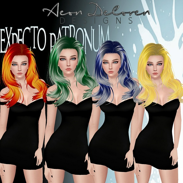 Harry Potter House Hair Colors Pack