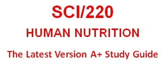 SCI220 Week 5 Nutritional Needs Ad