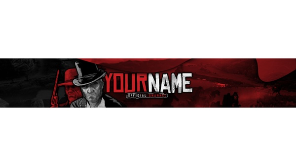 RED DEAD REDEMPTION YT BANNER