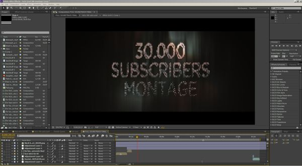 """FaZe Iced 30k Montage"" Project files (including all footage  - clips, cinematics, prerenders)"