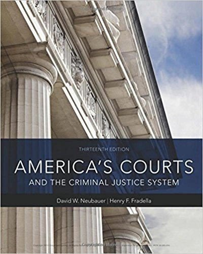 America's Courts and the Criminal Justice System, 13th Edition ( PDF , Instant download )