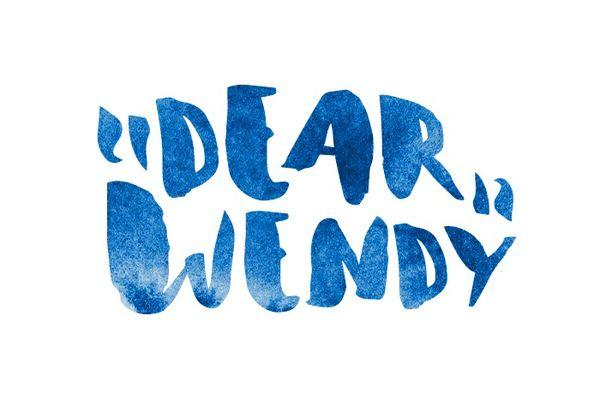 Dear Wendy Font