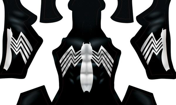 (CUSTOM) Black Symbiote pattern