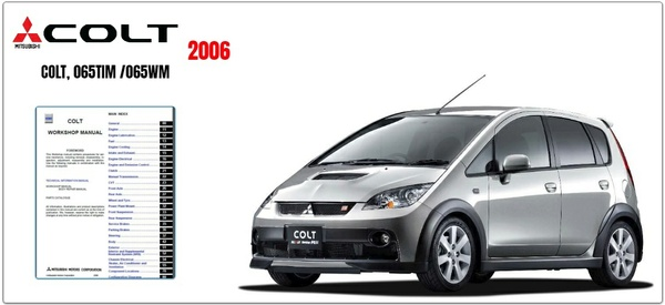 MITSUBISHI COLT 2006 FACTORY SERVICE MANUAL