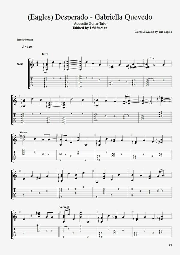 All Music Chords desperado sheet music : Stay close to me - Stammi Vicino (Aria) Sheet Music