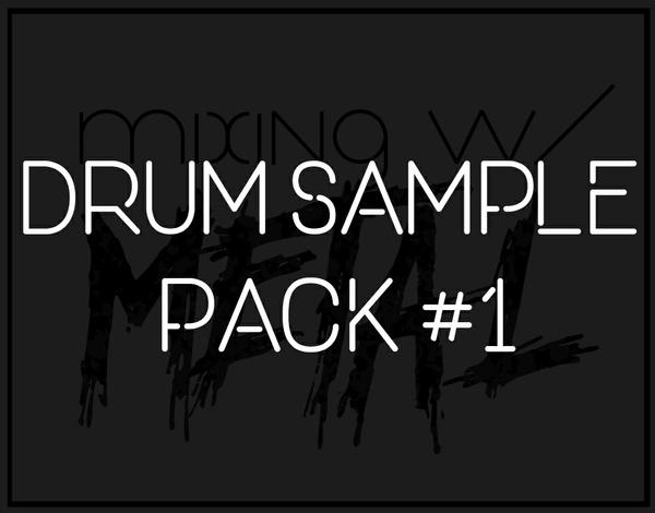 Mixing with Metal Drum Sample Pack #1