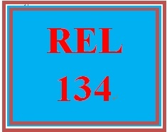 REL 134 Week 2 Jewish Holy Days Worksheet