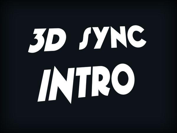 3D Sync Intro