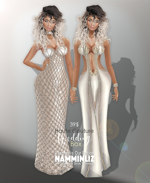 B O X Haute Couture Wedding Dresses Bibirasta With normal resell right Limited to 4 Customers