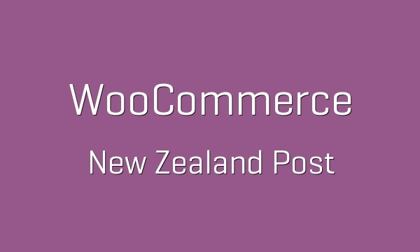 WooCommerce New Zealand Post 1.3.4 Extension