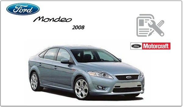 Ford Mondeo 2008 Repair Service Manual PDF.