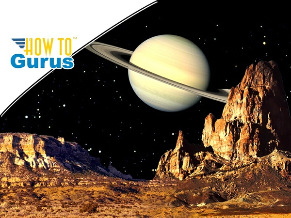 Photoshop Elements Blending Pictures: How to Create a Saturn Landscape in 15 14 13 12 Tutorial